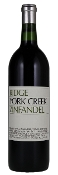 Ridge York Creek Zinfandel 2008